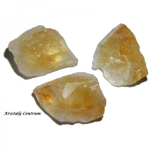 Citrin ásvány nyers