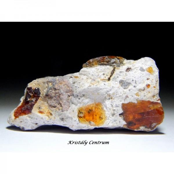 Tűzopál ásvány