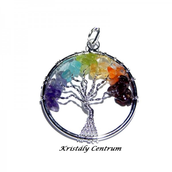 Csakra medál életfa