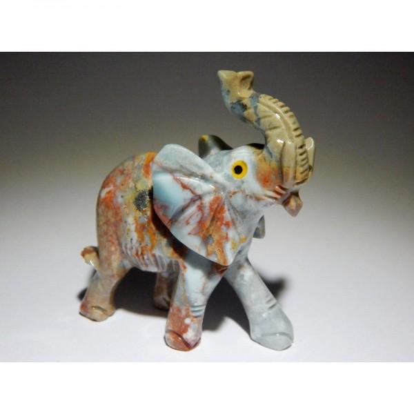 Állatfigura kőelefánt