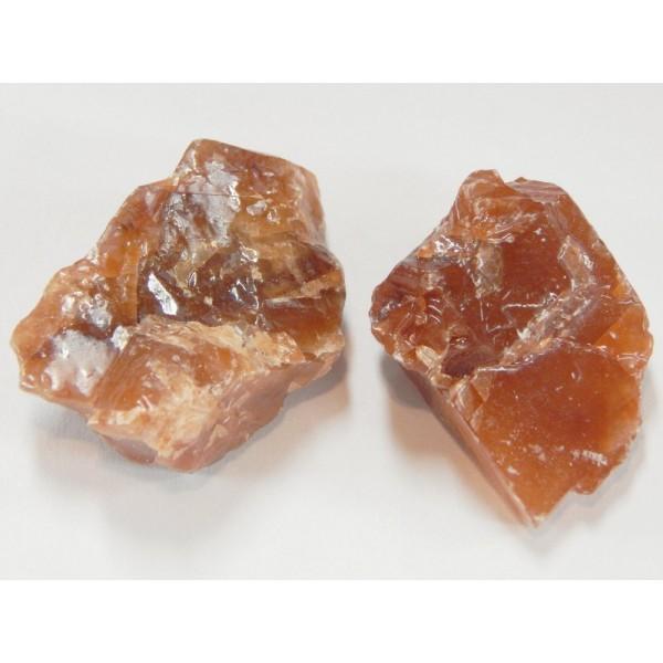 Kalcit ásvány nyers barna