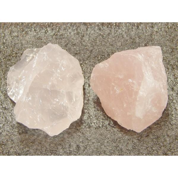 Rózsakvarc ásvány nyers